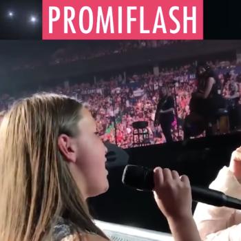 Spontanes Ständchen: Zwölfjährige flasht Pink beim Konzert!