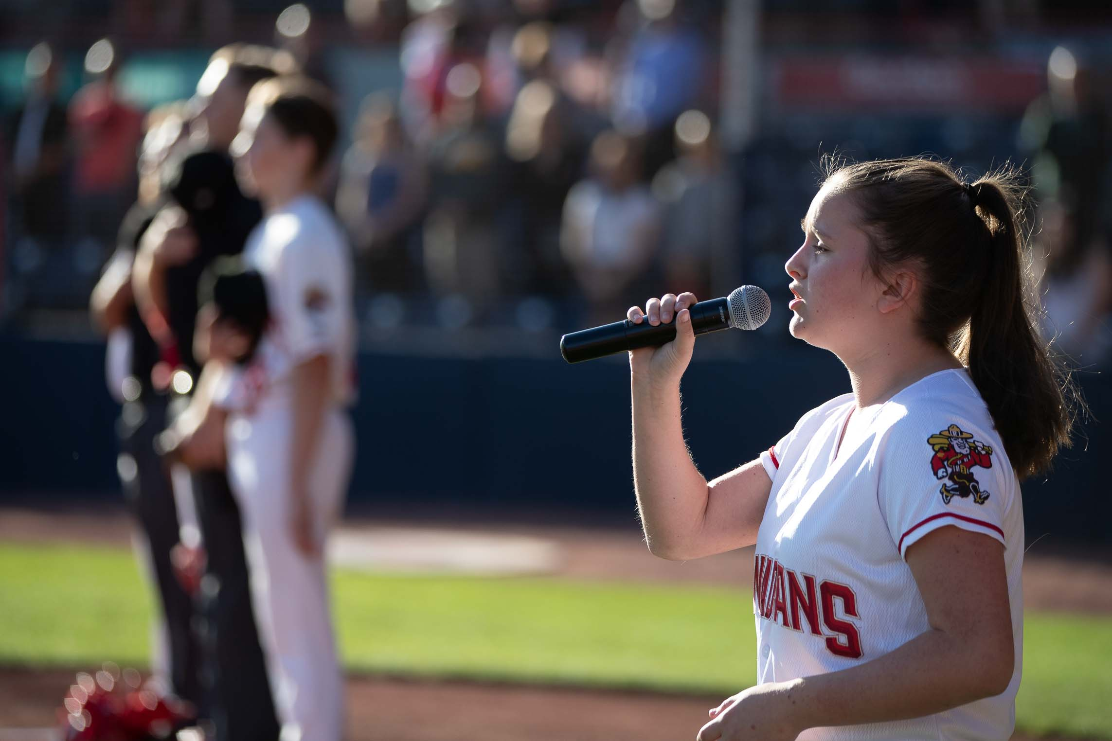 Anthem Ceremony-Softball BC Girls Provincial Championships – July 12th