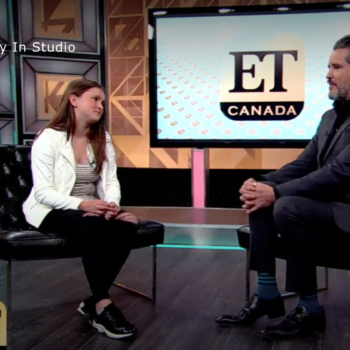ET Canada – Victoria Anthony in studio
